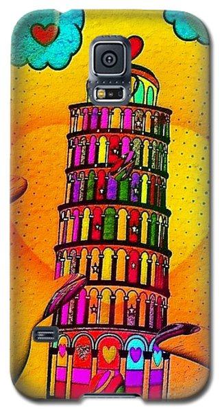 Pisa Popart By Nico Bielow Galaxy S5 Case
