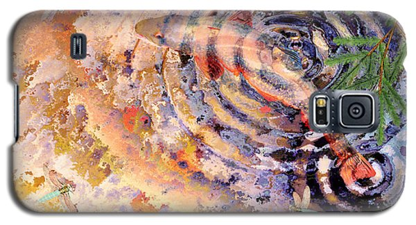 Galaxy S5 Case featuring the painting Pisces by Peter J Sucy