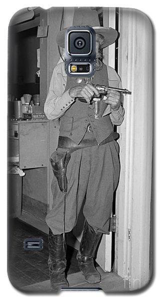 Pistol Pete Galaxy S5 Case by Larry Keahey