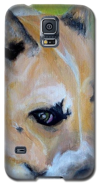 Pit Bull- Eve Galaxy S5 Case by Laura  Grisham