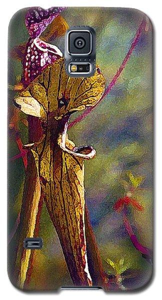 Pitcher Plant Galaxy S5 Case