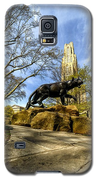 Pitt Panther Cathedral Of Learning Galaxy S5 Case