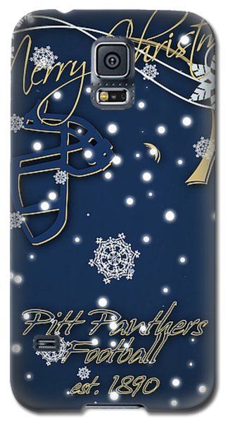 Pitt Panthers Christmas Cards Galaxy S5 Case by Joe Hamilton