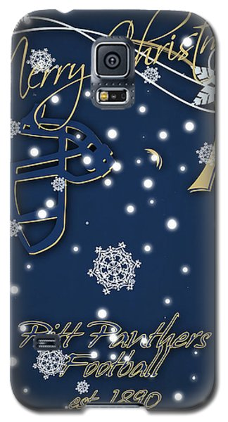 Pitt Panthers Christmas Cards Galaxy S5 Case