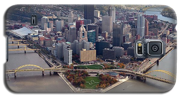 Pittsburgh 8 In Color  Galaxy S5 Case