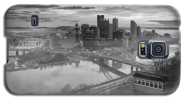 Pittsburgh Architecture 10 Bw Galaxy S5 Case
