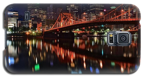 Pittsburgh Lights Galaxy S5 Case by Frozen in Time Fine Art Photography