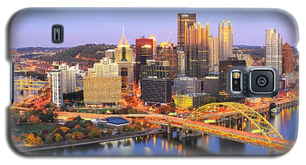 Pittsburgh Pano 22 Galaxy S5 Case
