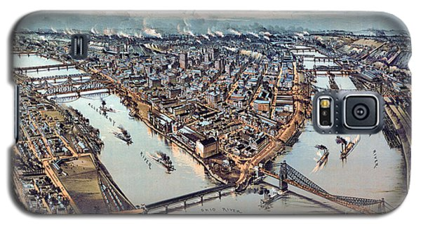 Pittsburgh Pennsylvania 1902 Galaxy S5 Case