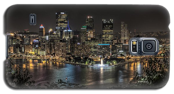 Galaxy S5 Case featuring the photograph Pittsburgh Skyline by Brent Durken