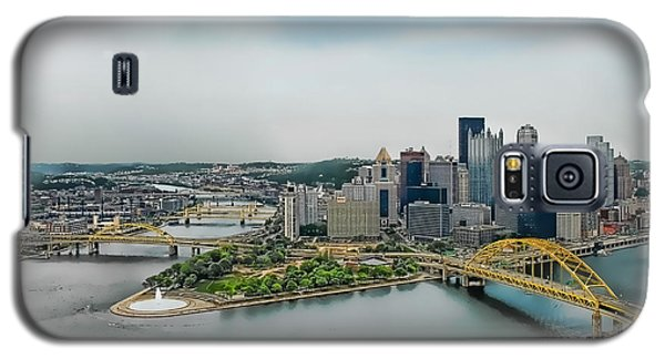 Pittsburgh Skyline Galaxy S5 Case