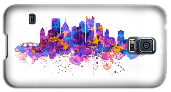 Pittsburgh Skyline Galaxy S5 Case by Marian Voicu