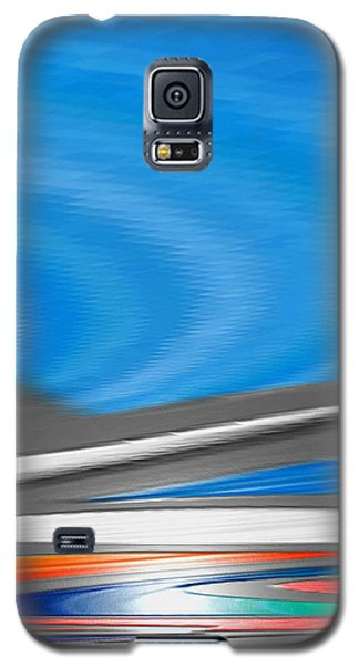 Galaxy S5 Case featuring the digital art Pittura Digital by Sheila Mcdonald