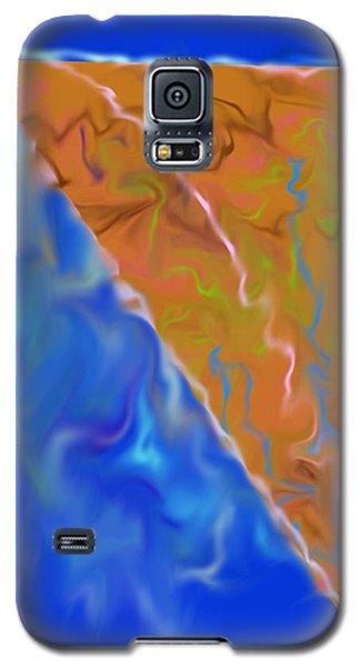 Pizza Pie Galaxy S5 Case by John Krakora