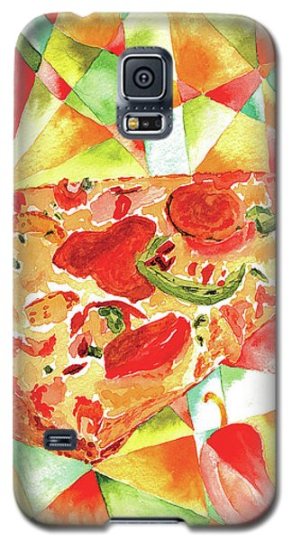 Pizza Pizza Galaxy S5 Case by Paula Ayers