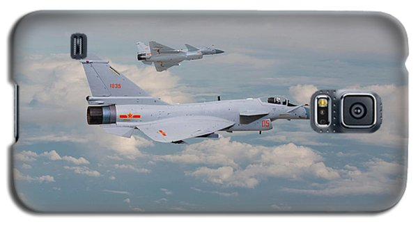 Galaxy S5 Case featuring the photograph Plaaf J10 - Vigorous Dragon by Pat Speirs