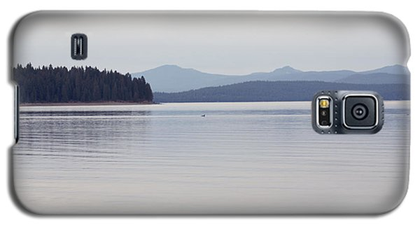 Placid Mountain Lake Galaxy S5 Case