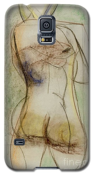 Galaxy S5 Case featuring the drawing Placid by Paul McKey