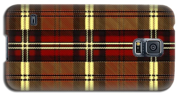 Plaid Galaxy S5 Case
