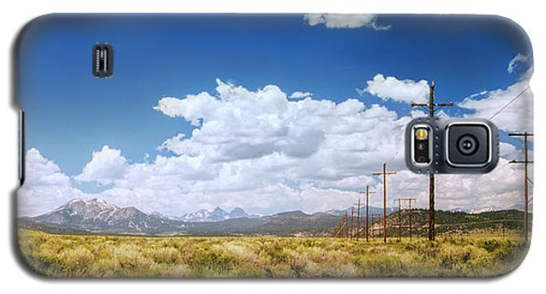 Plains Of The Sierras Galaxy S5 Case