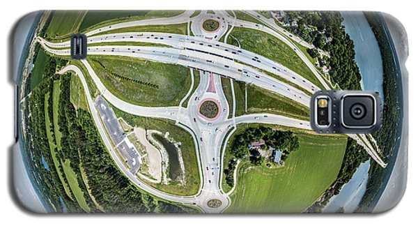 Galaxy S5 Case featuring the photograph Planet Of The Roundabouts by Randy Scherkenbach