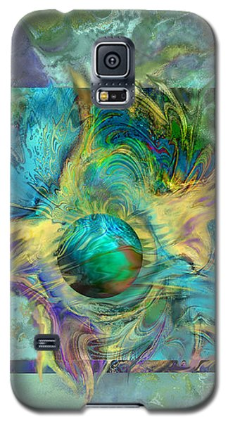 Planetary Collision 2 Galaxy S5 Case by Ursula Freer