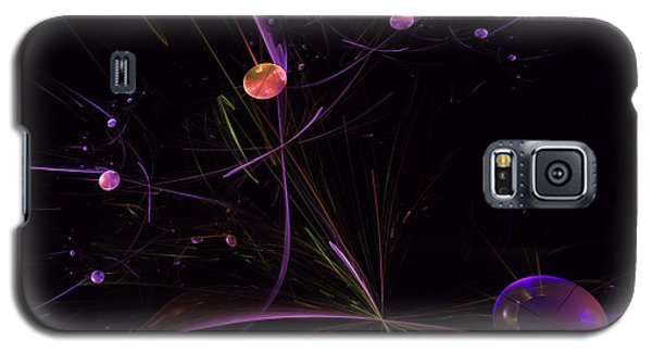 Planets And Space Energies Galaxy S5 Case by Ernst Dittmar