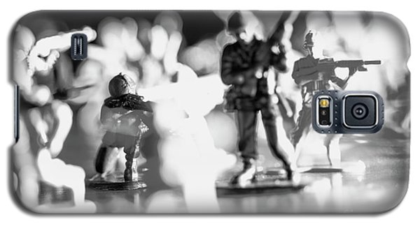 Galaxy S5 Case featuring the photograph Plastic Army Men 2 by Micah May