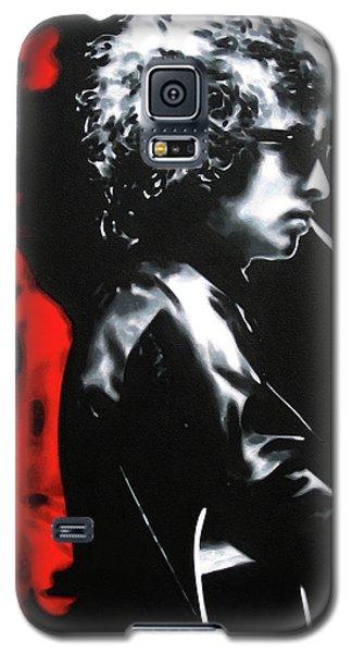 Bob Dylan Galaxy S5 Case - Play It Fuckin' Loud by Hood alias Ludzska