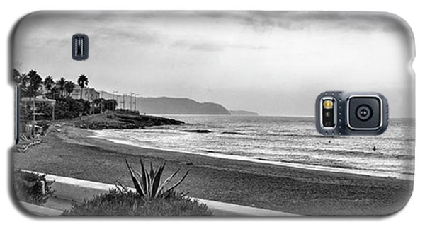 Holiday Galaxy S5 Case - Playa Burriana, Nerja by John Edwards