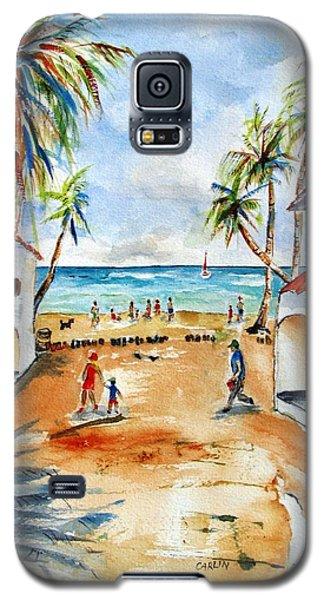Playa Del Carmen Galaxy S5 Case by Carlin Blahnik