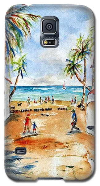 Playa Del Carmen Galaxy S5 Case