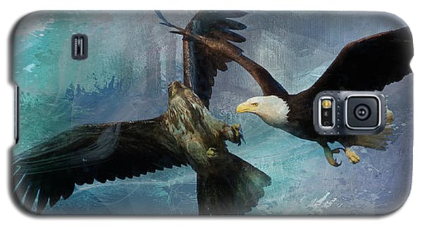 Playful Eagles Galaxy S5 Case