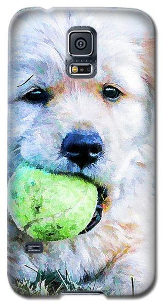 Playful Pup Galaxy S5 Case