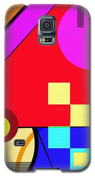 Galaxy S5 Case featuring the digital art Playful by Silvia Ganora