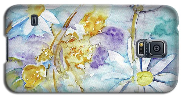 Galaxy S5 Case featuring the painting Playfulness by Jasna Dragun