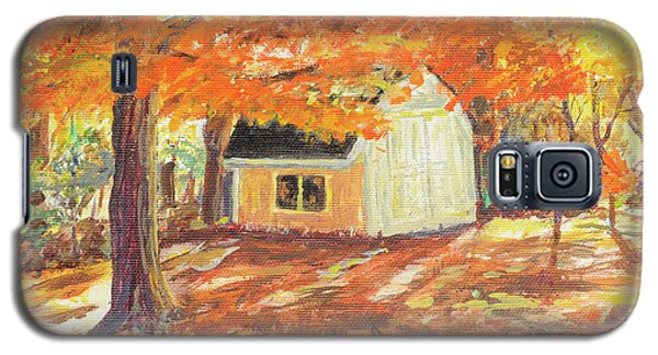 Playhouse In Autumn Galaxy S5 Case