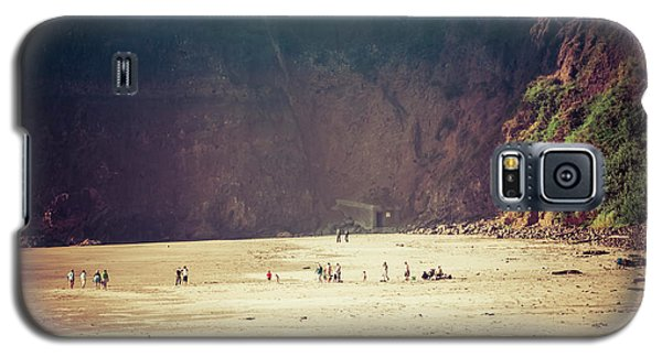Playing Along Oceanside Oregon Galaxy S5 Case