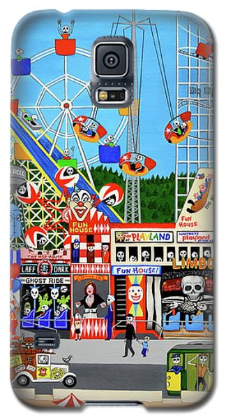 Playland In The Afterlife Galaxy S5 Case by Evangelina Portillo