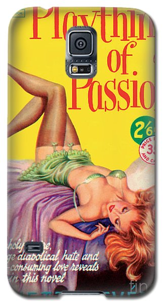 Galaxy S5 Case featuring the painting Plaything Of Passion by Reginald Heade