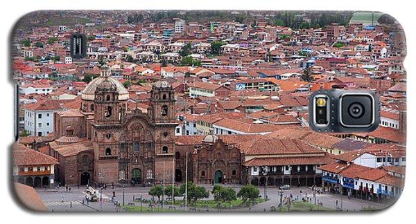 Galaxy S5 Case featuring the photograph Plaza De Armas, Cusco, Peru by Aidan Moran