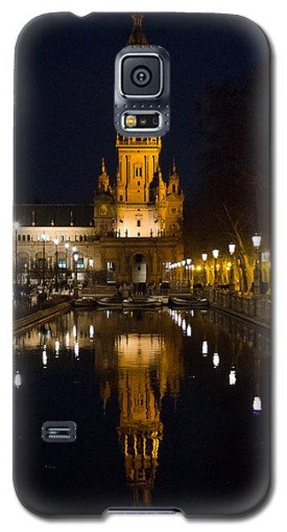 Plaza De Espana At Night - Seville 6 Galaxy S5 Case
