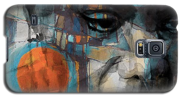 Galaxy S5 Case featuring the mixed media Please Don't Let Me Be Misunderstood by Paul Lovering