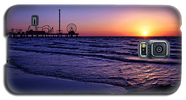 Pleasure Pier Sunrise Galaxy S5 Case