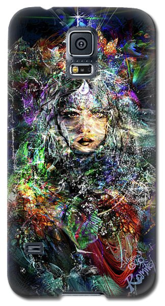 Pleiadian Bird Tribe Priestess Galaxy S5 Case