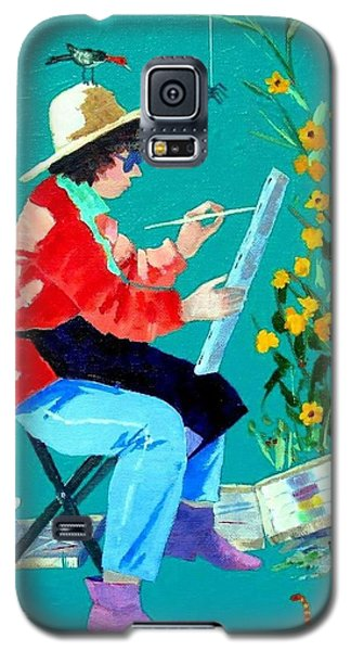 Plein Air Painter  Galaxy S5 Case