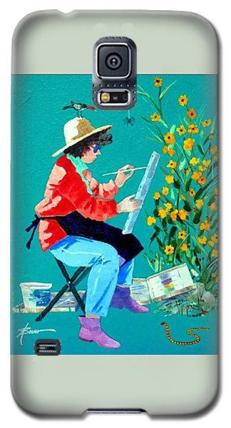 Plein Air Painter  Galaxy S5 Case