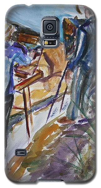 Plein Air Painters - Original Watercolor Galaxy S5 Case