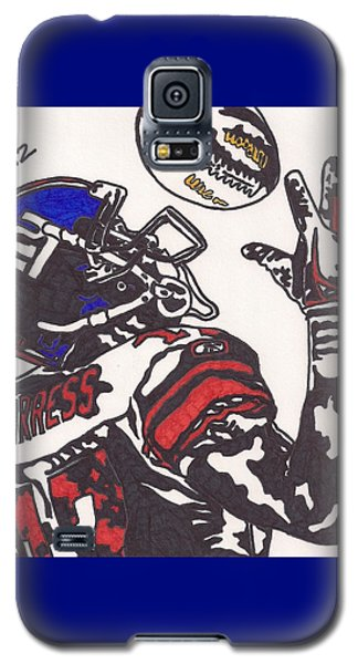 Galaxy S5 Case featuring the drawing Plexico Burress by Jeremiah Colley