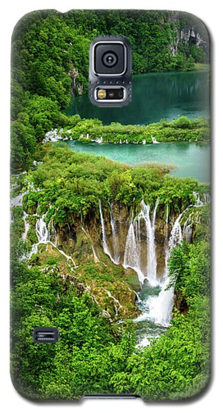 Plitvice Lakes National Park - A Heavenly Crystal Clear Waterfall Vista, Croatia Galaxy S5 Case